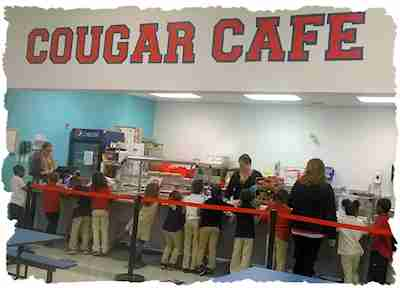 Cougar Cafe  Campus Community School's nutrition program